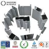 Profil en aluminium en aluminium d'alliage d'extrusion pour la porte de guichet