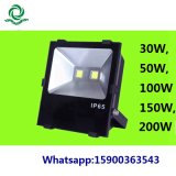 IP65 30W 50W 100W 150W LED SMDの洪水の屋外ライト