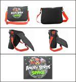 Männer schwarze Nylon Lässig Messenger Bag