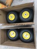 4.10/3.50-4 Gute Qualitätsfeste Gummiräder für Japan-Markt