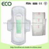 毎日の使用の製品のための否定的な陰イオンの衛生パッドが付いている女性の生理用ナプキン
