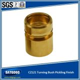 Brass girado Bush com CNC Machining