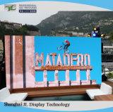 Slim HD P8 al aire libre del panel de pantalla LED SMD 3535 exterior/pantalla LED de ahorro de energía