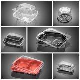 Colonna quattro che funziona il cassetto di plastica automatico stabile dell'alimento che forma macchina