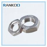 Acier inoxydable 304 noix mince M3-M24 de 316 hexagones