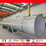 Ss 321 tuyau en acier inoxydable soudé 1.4541