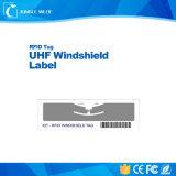 Leitura de longa distância de forma personalizada Ucode UHF Etiqueta de para-brisa