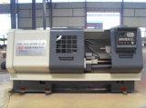 Système de FANUC CNC filetage de tuyau chinois Lathe (QK1327)