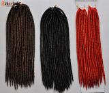 Serratura molle cara 2016 di terrore dell'involucro dell'involucro 100% Kanekalon dei capelli dei capelli di torsione di estensione sintetica enorme dei capelli Lbh 005