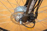 """Motocicleta elétrica do """"trotinette"""" da bicicleta da bicicleta quieta do motor E do cubo de roda 8fun da liga de 350W 500W Ai"""