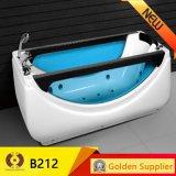 Kb212 Moda Baño de acrílico de masaje portátil para bañera de hidromasaje