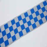 Une haute visibilité T/C matériau réfléchissant Tissu de bande pour la sécurité