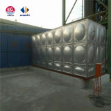 1000 de kubieke Food-Grade Tank van het Water van het Roestvrij staal voor het Water van het Huishouden