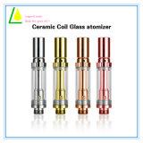 Atomizzatore di vetro riutilizzabile di ceramica di Thc della penna di Vape del vaporizzatore dell'olio di Cbd
