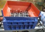 Plastikabfall, der Maschinen-doppelte Welle-Reißwolf-Maschine aufbereitet