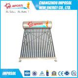 2016 Heat Pipe compacto tubo de vacío a presión calentador de agua solar