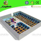 Sale (3021E)のためのSafety Netの大きいKids Trampoline Park