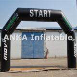 昇進の膨脹可能な入口のアーチの開始または決勝線