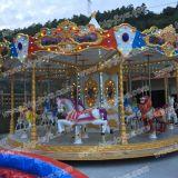 2016 Merry Go Round Passeios Carrossel do parque de diversões para venda