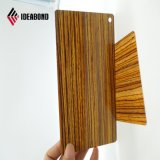 Декоративные деревянные выглядят алюминиевых композитных панелей для установки на потолок