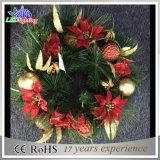 Luz colgante hermosa de la decoración de la Navidad del adorno de la guirnalda del LED