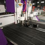Ce doble cabeza de la Carpintería de corte CNC Máquina con el eje de rotación