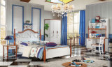 Lit double chambre à coucher Meubles design utilisé pour les enfants ensembles de chambre à coucher (SZ-BT905)