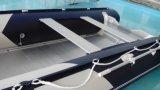 アルミニウム床の膨脹可能な漁船