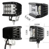Warning Flash 4inchのOffroad 4X4のための36W Side Shooter LED Light LED Driving Light