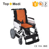 Handicap Easy Carry Batterie au lithium détachable Foldable Power Electric Wheelchair