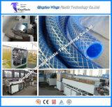 Tubulação trançada plástica que faz a maquinaria, linha da extrusão da mangueira de jardim do PVC na venda