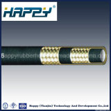 HochdruckR2/2sn Draht-umsponnener flexibler hydraulischer Gummischlauch