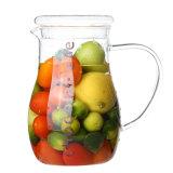 ガラス飲み物の水差しガラスジュースの水差しのコーヒー茶水差しのガラス飲料の水差し