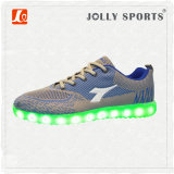남자를 위한 신발 단화를 달리는 새로운 여가 LED 가벼운 스포츠