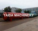 машина автоклава вулканизатора топления пара шланга ролика резины 2.8X8m электрическая