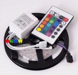 Ce del kit/insieme (colore di DIY, telecomando) dell'indicatore luminoso di striscia della flessione LED di SMD3528 RGB & RoHS