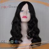 Peluca brasileña natural de las mujeres de la tapa de la piel del estilo de la onda del pelo (PPG-l-0974)
