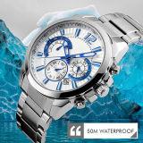 新式の水晶腕時計は、ステンレス鋼の腕時計HlBg191を作る