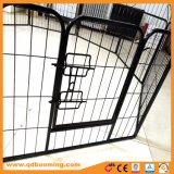 Fio de metal 8 Exercício de dobragem no painel cerca para animais de estimação Pátio Recepção 24 polegadas, preto