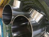 磨かれる衛生ステンレス鋼Ss304の等しいティーミラー(DEYIティー01)