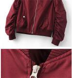 Späteste Verkaufs-Armee-Flug-Lebensdauer-Militärdame Zipper Jacket des Entwurfs-2016 heiße