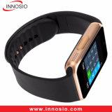 Teléfono Bluetooth original Gt08 Android inteligente reloj teléfono móvil con NFC / cámara / podómetro