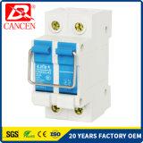 Het isoleren van de Stroomonderbreker RCCB MCB 1-63A van de Schakelaar 2p MCCB