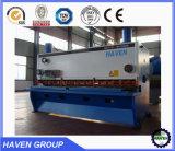 Fabricante da máquina de estaca da folha do metal do NC da guilhotina de QC11Y