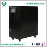 LCD en Venta caliente 60kVA monofásicos hogar red híbrida Tie inversor solar