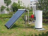 Sistema de aquecedor de água solar com divisão de tipo pressurizado
