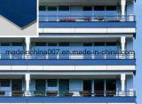 Innenfassade-dekorative Fertigstellungs-Umhüllung-feuerfeste Faser-Kleber-Panel-Marmor-Fertigstellung, Metallfertigstellung