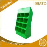 Étalage d'étage de carton ondulé, étalage de carton de position pour des biscuits