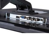 Alimentation CC 17 pouces Moniteur LCD de bureau avec VGA USB