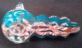 A mistura Handmade colore a tubulação de vidro da mão para o tabaco
